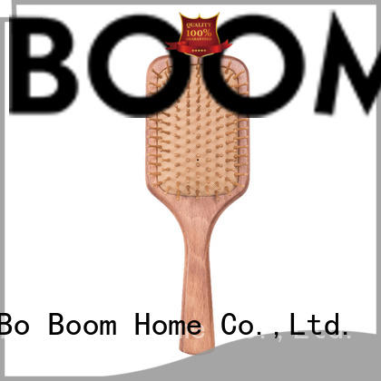 hair wooden brush paddle for shop Boom Home