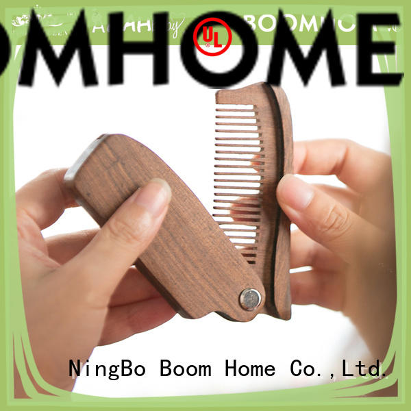 Boom Home large wooden comb factory for shop