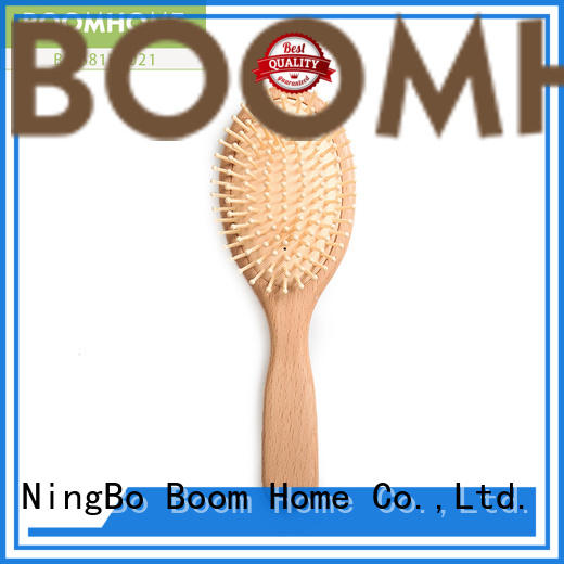 Boom Home grooming wooden comb factory for travel