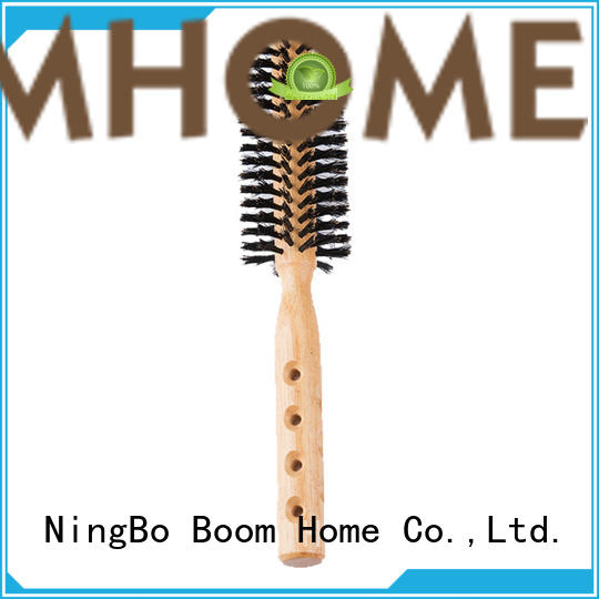 pure round barrel hair brush factory for cleaning