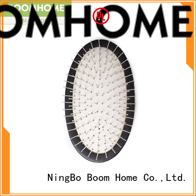 Boom Home noble wooden paddle hair brush factory for hotel