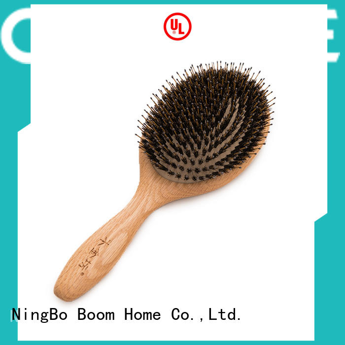 quality bamboo hair brush tool personalized for thick hair