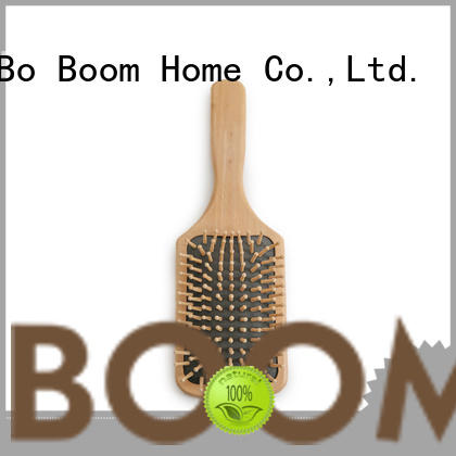 Top wooden hair comb paddle suppliers for hotel