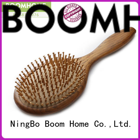 Boom Home eco-friendly wooden hair brush inquire now for travel