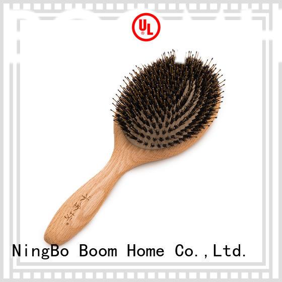 Boom Home hairbrush bamboo paddle brush supplier for men