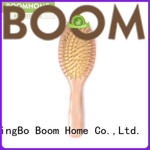 Boom Home Best wood hair brush supply for travel