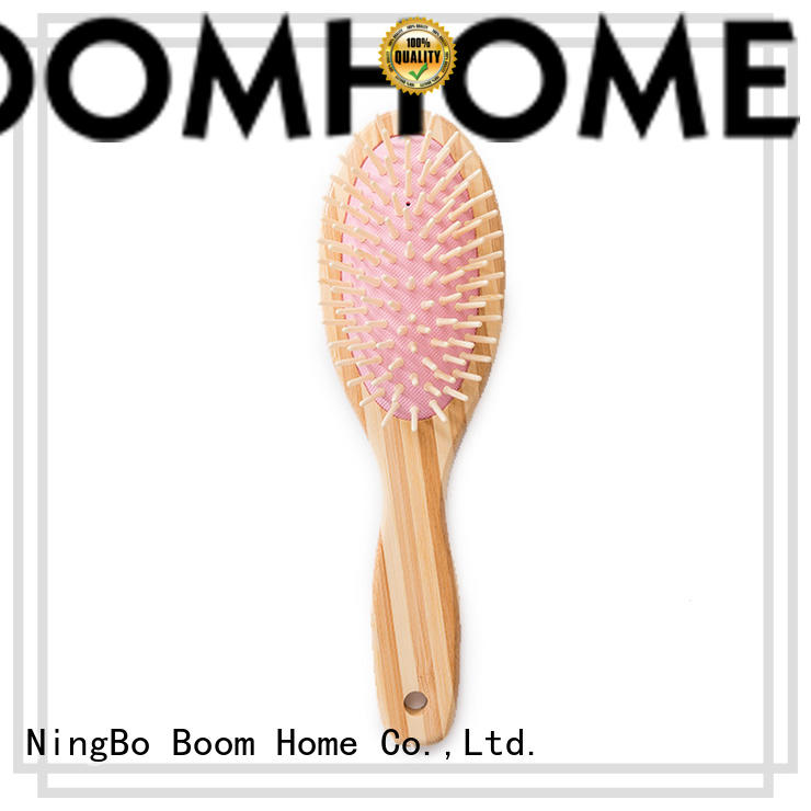 hairbrush bamboo brush design for thick hair Boom Home