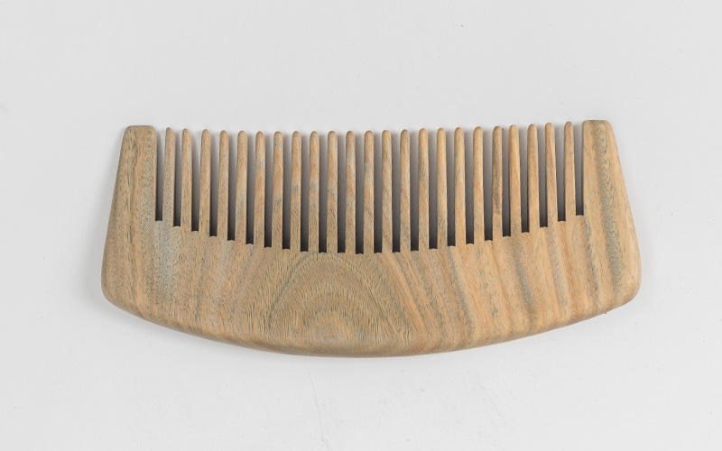 Boom Home round wooden comb design for travel-3