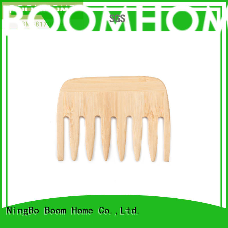 large wooden pin hair brush factory for travel