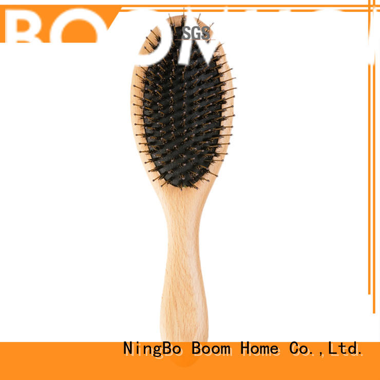 Boom Home wooden boar hair hairbrush with good price for men