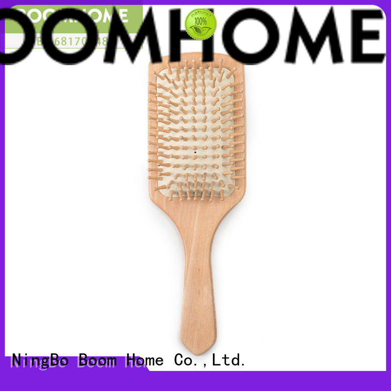 smooth bamboo hair comb carry personalized for thick hair