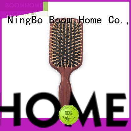 Boom Home health wooden hair brush for business for hotel