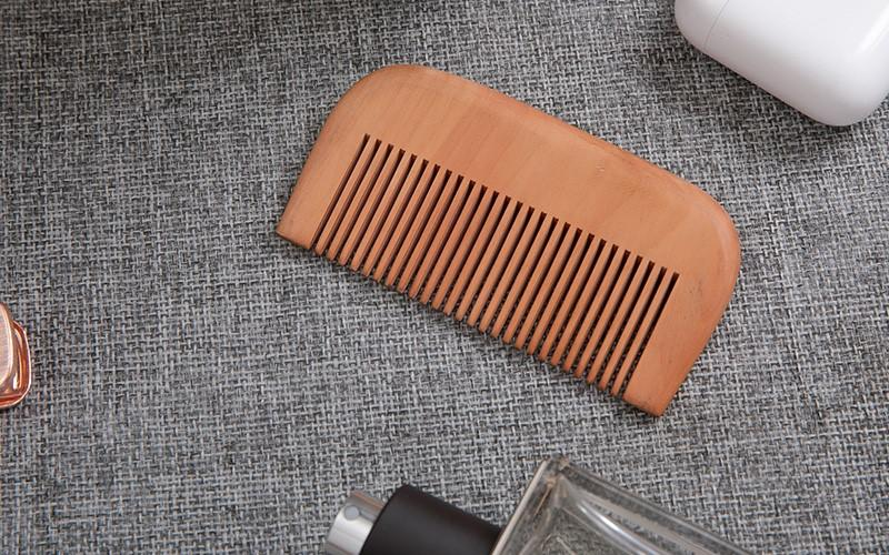 price organic wooden hair brush with good price for shop Boom Home-1