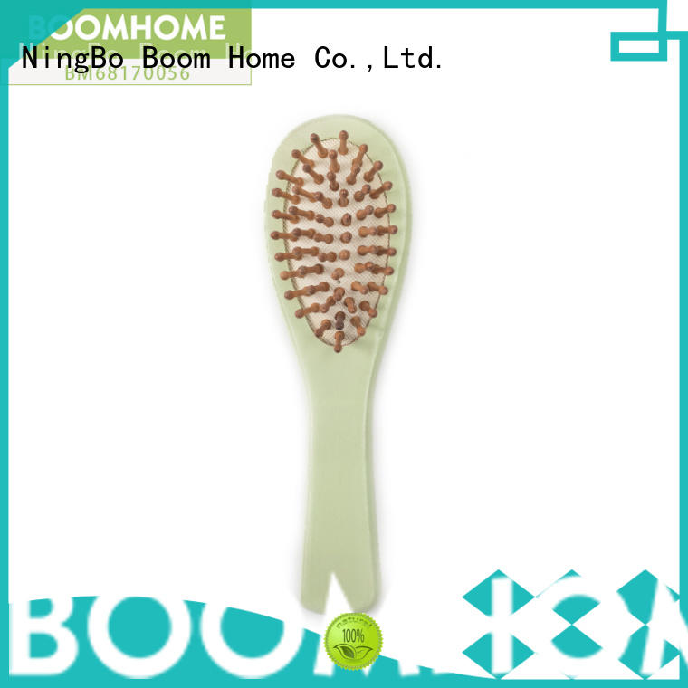 large wood hair brush bamboo design for home