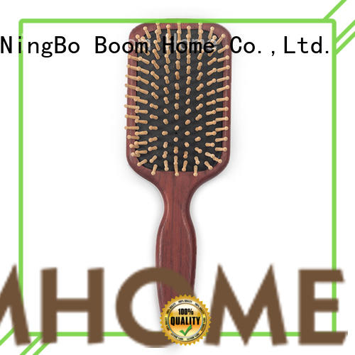 Boom Home large wooden handle hair brush factory for home