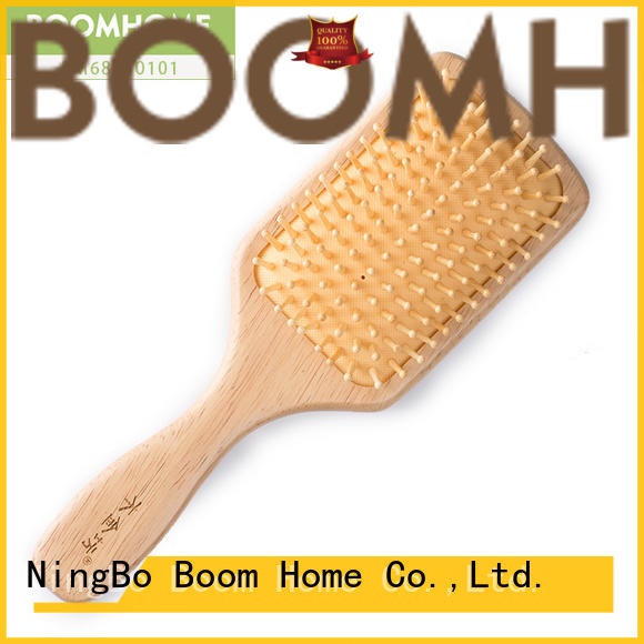 Boom Home eco-friendly wooden paddle brush inquire now for shop