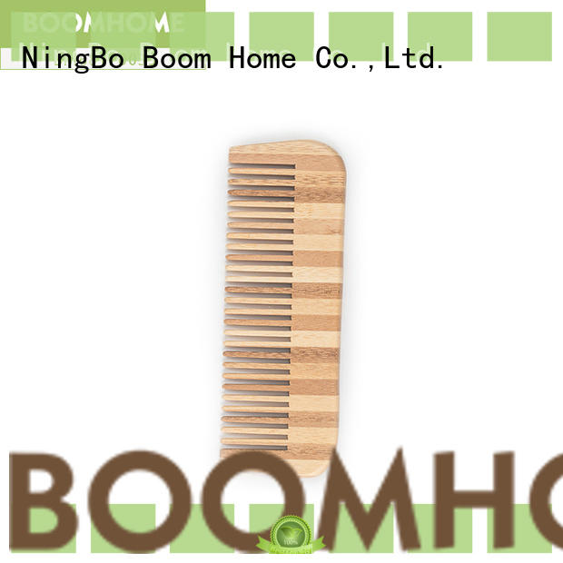 Boom Home small bamboo comb wholesale for thick hair