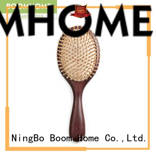 Boom Home detangling wood hair brush factory for travel