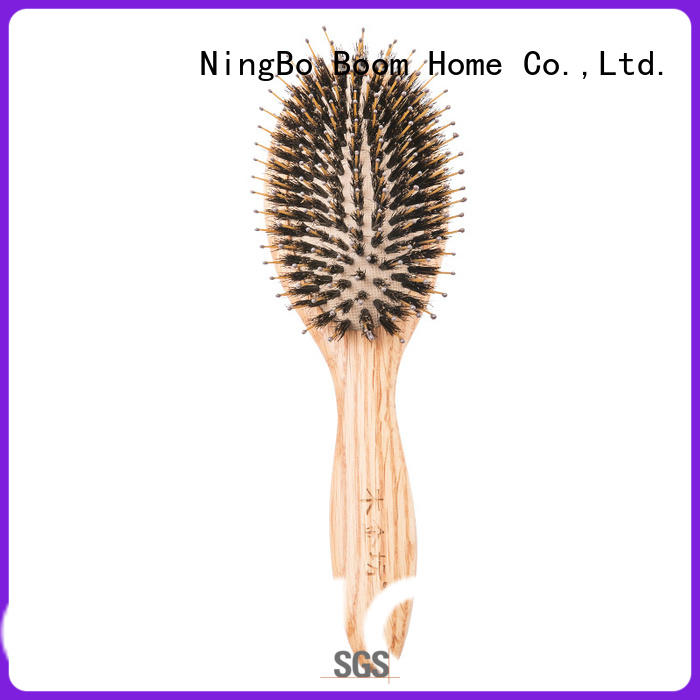 Boom Home health wooden comb factory for travel