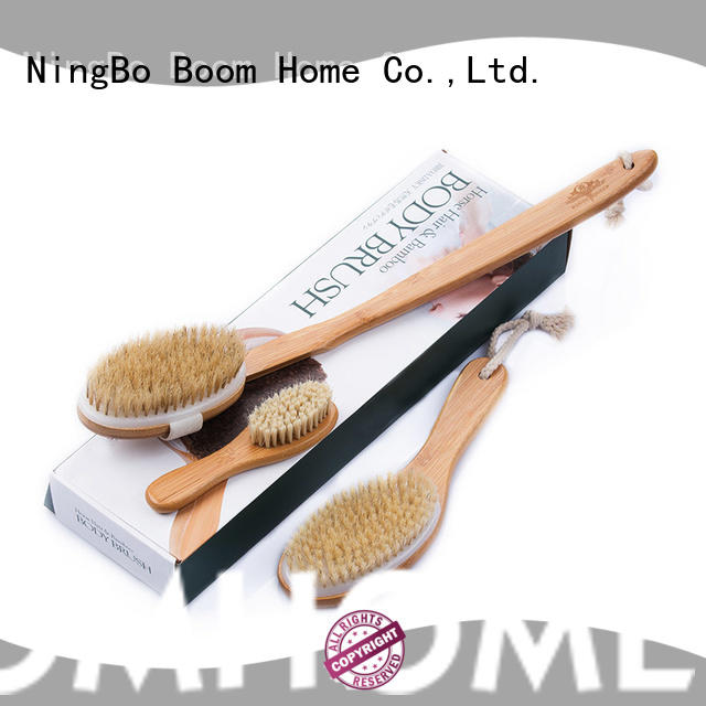 Boom Home beech bathtub cleaning brush company for dry skin