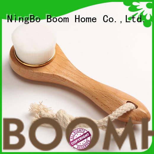 wooden face brush deep cleansing for dry skin Boom Home