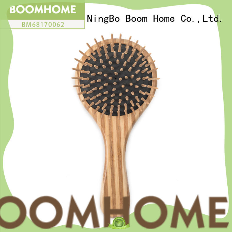 Boom Home smooth bamboo hair comb factory price for curly hair