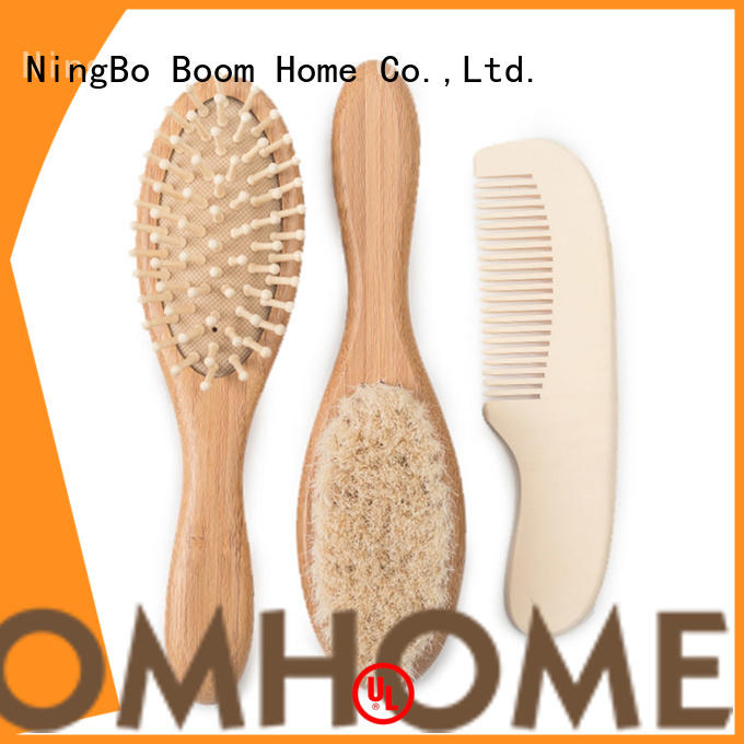 Boom Home Wholesale infant hair brush factory for trottie