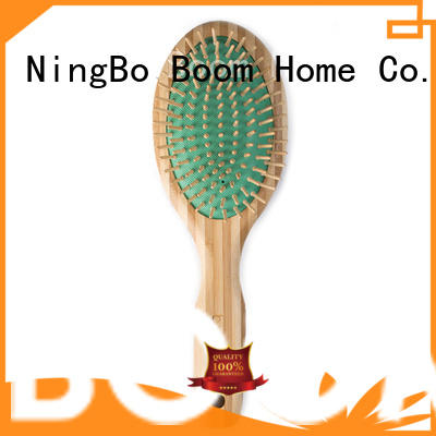 bamboo pin brush handle for women Boom Home