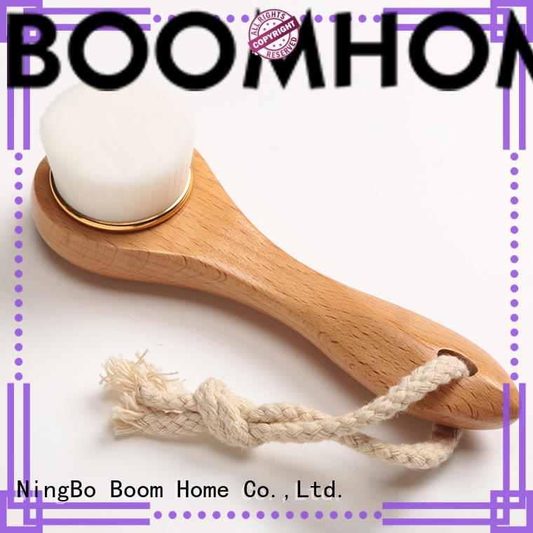 Boom Home best natural bristle face brush wholesale for girls