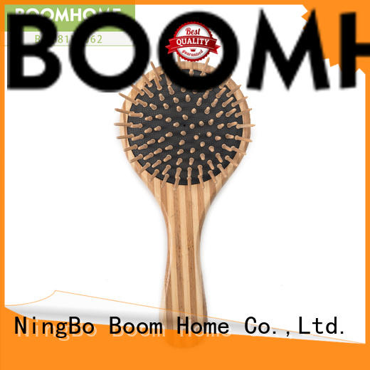 Boom Home New bamboo hair brush supply for curly hair