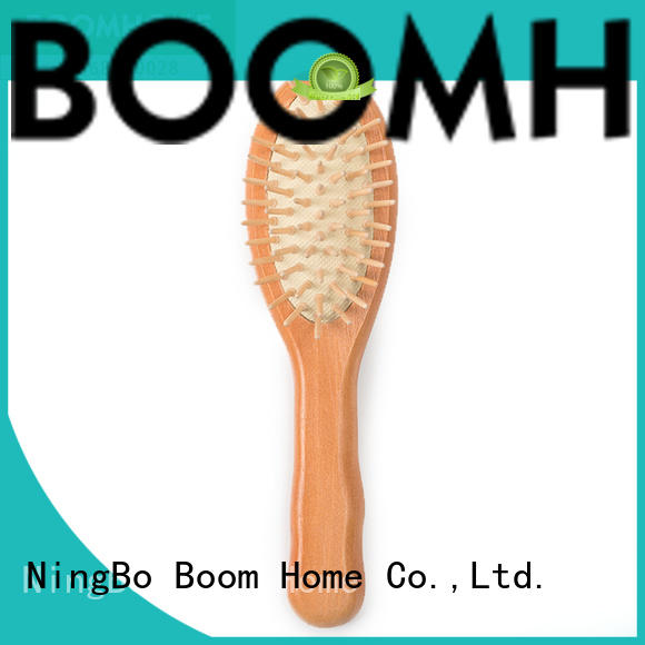 Boom Home anti-static wooden hair comb with good price for hotel