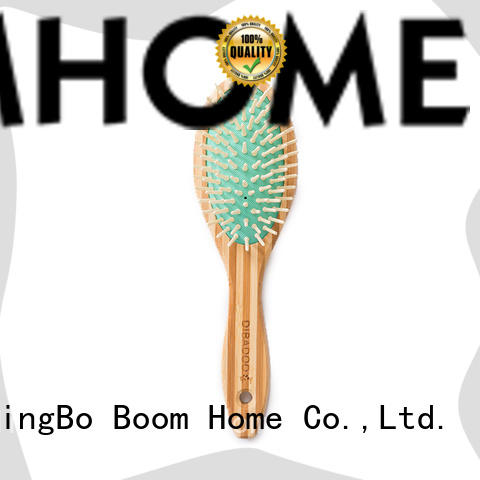 quality bamboo hair brush comb supplier for curly hair