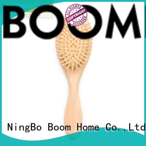 Boom Home beard wooden handle hair brush inquire now for travel