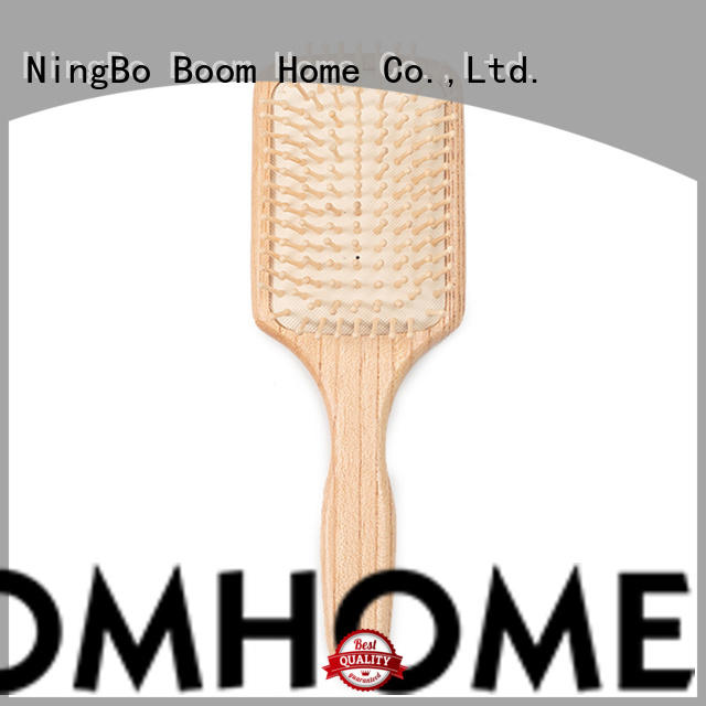 Boom Home scalp wooden paddle brush inquire now for shop