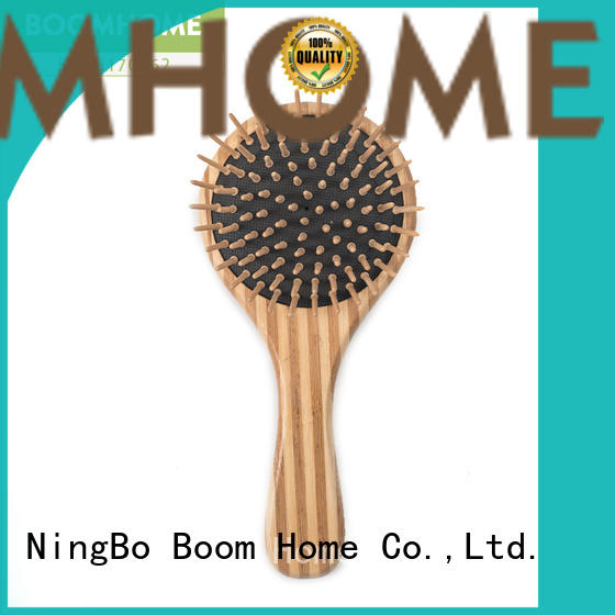 Boom Home paddle bamboo hair comb supplier for thick hair