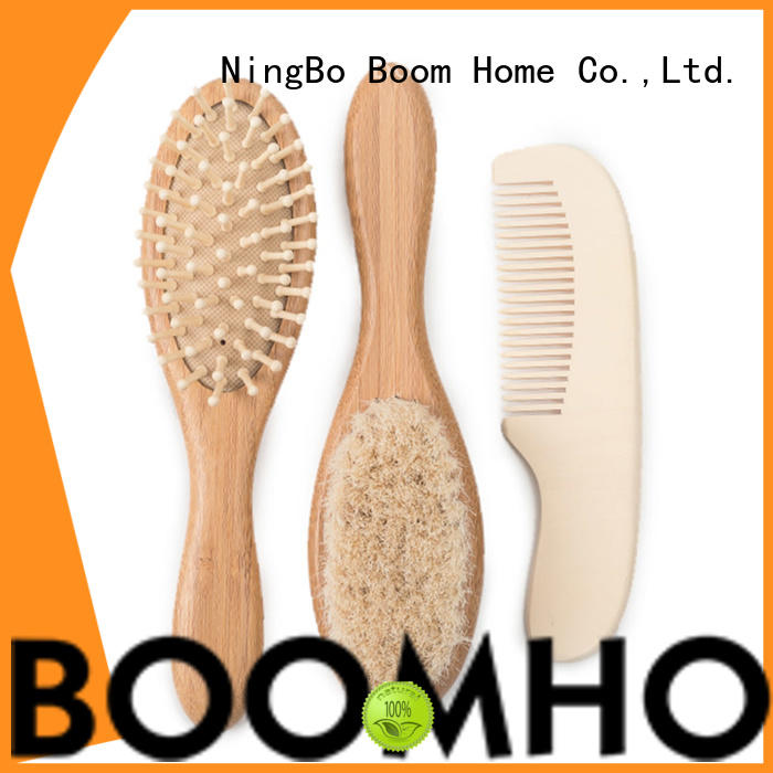 Boom Home pure baby hairbrush company for infant