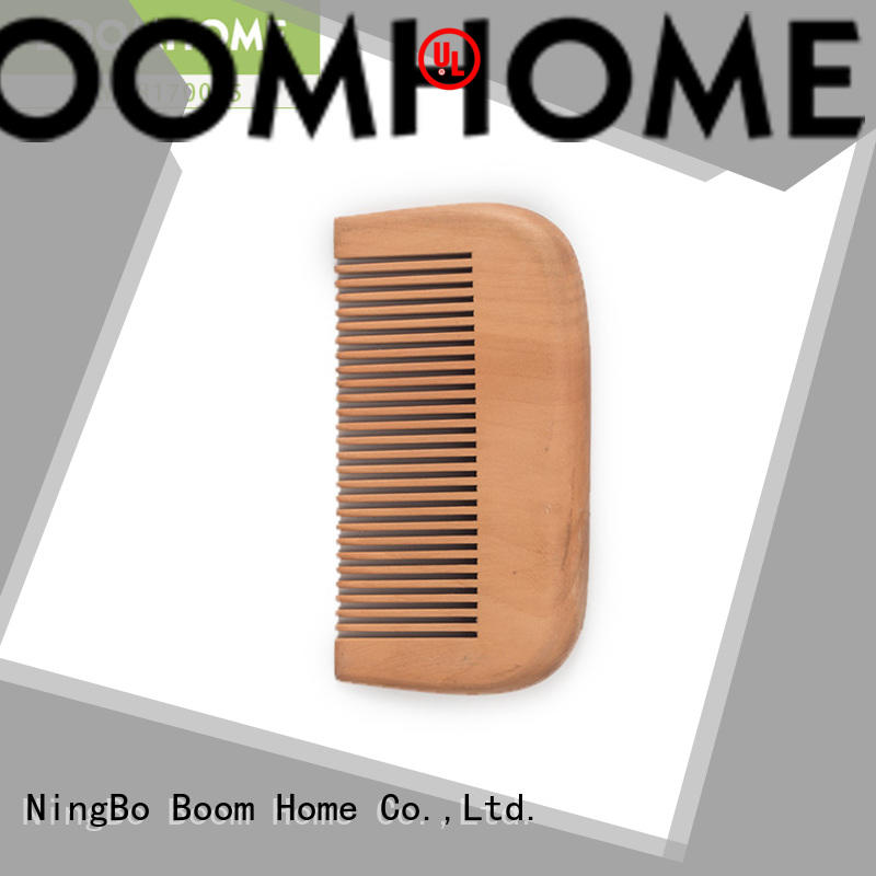 Boom Home scalp wooden paddle brush factory for travel