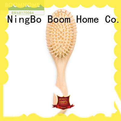 Boom Home eco-friendly wooden paddle brush with good price for travel