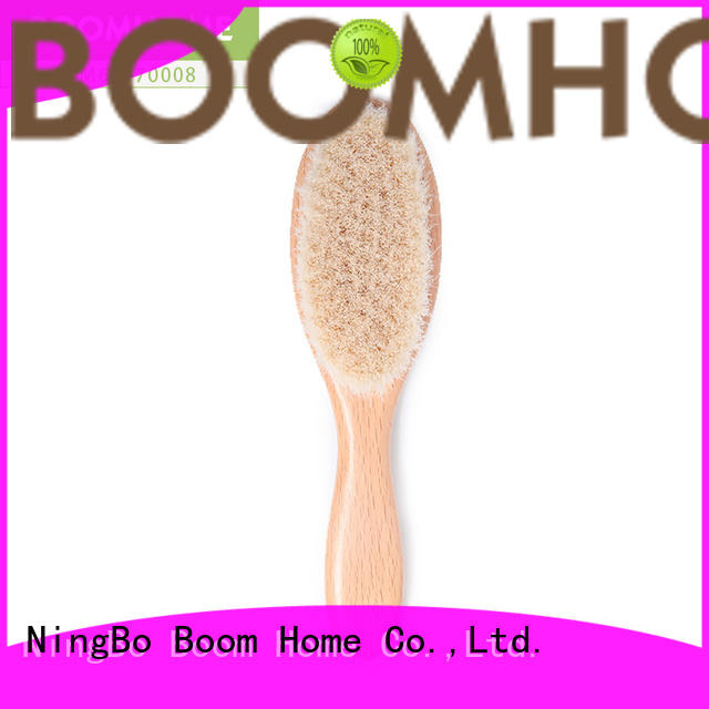 natural infant hair brush bristles manufacturer for household