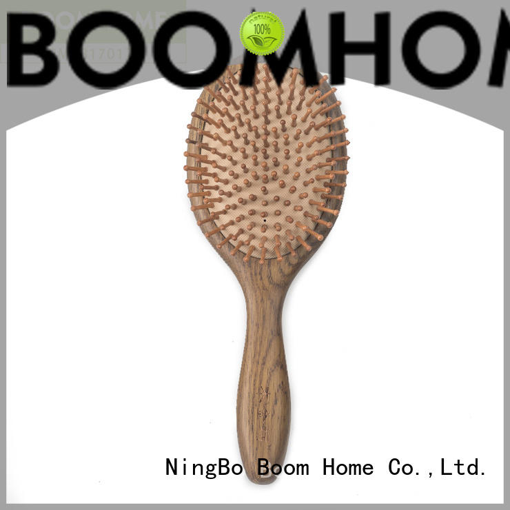 Boom Home bamboo wood hair brush inquire now for hotel