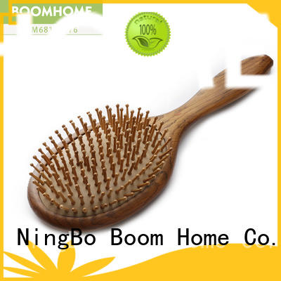 Boom Home brushing wood hair brush inquire now for home