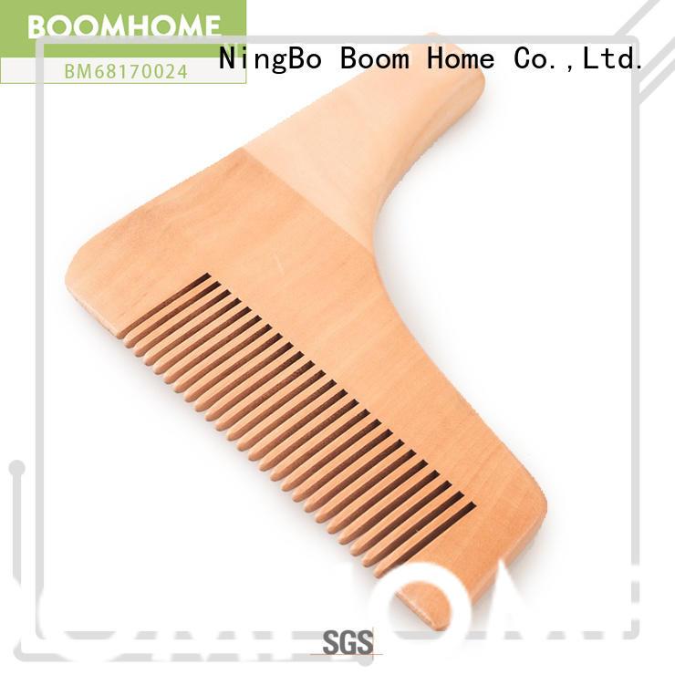 noble wooden hair brush fashion design for hotel
