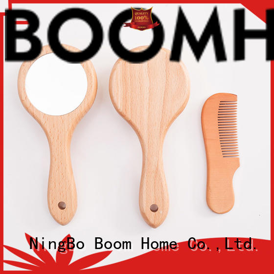 Top toddler hair brush wooden for business for infant