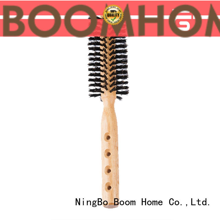 Boom Home Custom round hair brush supply for travel