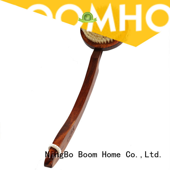 Boom Home bamboo body bath brush series for dry skin