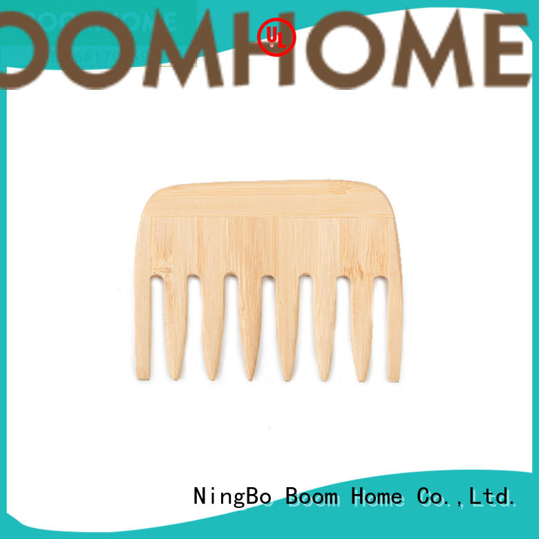 Boom Home fashion wooden paddle hair brush suppliers for hotel
