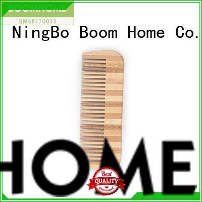Boom Home mini bamboo hair brush wholesale for men