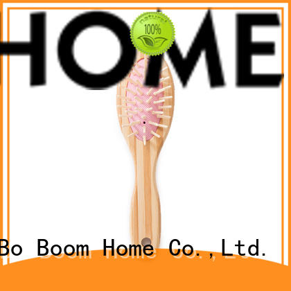 Boom Home oval bamboo paddle brush supplier for women