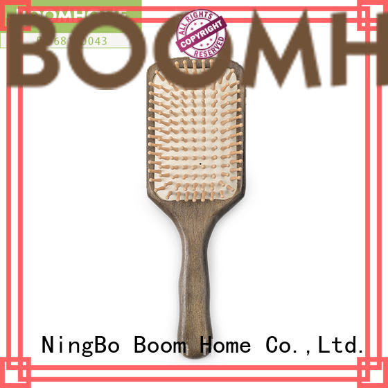 Boom Home noble wooden hair brush with good price for shop