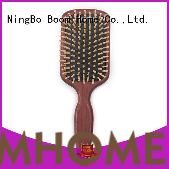 Top wood hair brush retro supply for hotel
